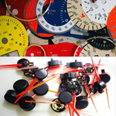 комплектующие для приборов: - стрелки приборные - ш. моторы - кольца - корпуса - решения для тюнинга приборов